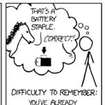 La entropía y la seguridad